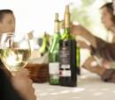 hispanics drinking wine