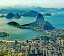 View over Brazil