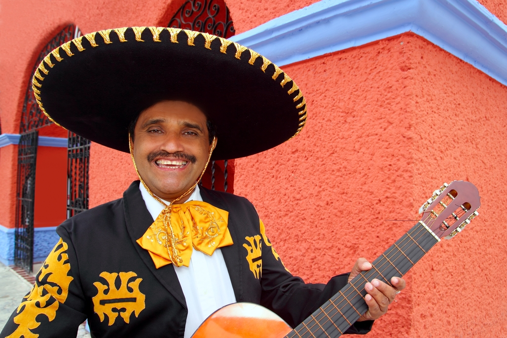 Mariachi - Wine in a sombrero?