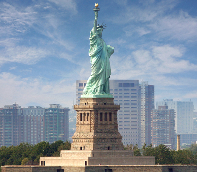 USA Statue of Liberty - The American Dream lives on