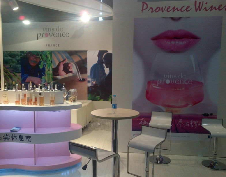 Vinisud Asia Provence Stand - China: Five trends for the wine market in 2013