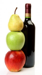 Wine-and-Fruit