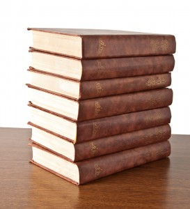 stack of books 273x300 - Drink, the great provoker (of words)