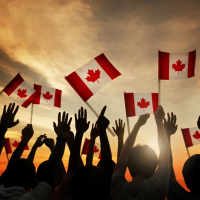 People waving Canada flag 400x400 - Best of both worlds