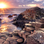Sunset at Giants Causeway 150x150 - De legem ad vinum