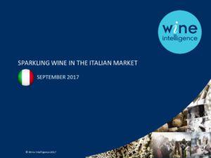 SPARKLING WINE IN THE ITALIAN MARKET
