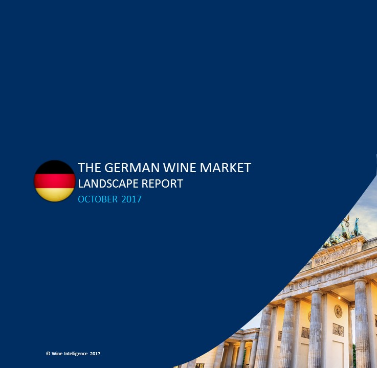 Germany Landscapes 2017 - Press Release: Few power brands in the German market, creating favourable conditions for market entry, according to a new report by Wine Intelligence