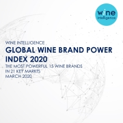 Global Wine Brand Power Index 2020 180x180 - PRESS RELEASE: Yellow Tail and Casillero del Diablo top the Wine Intelligence Global Wine Brand Power Index for third year in a row