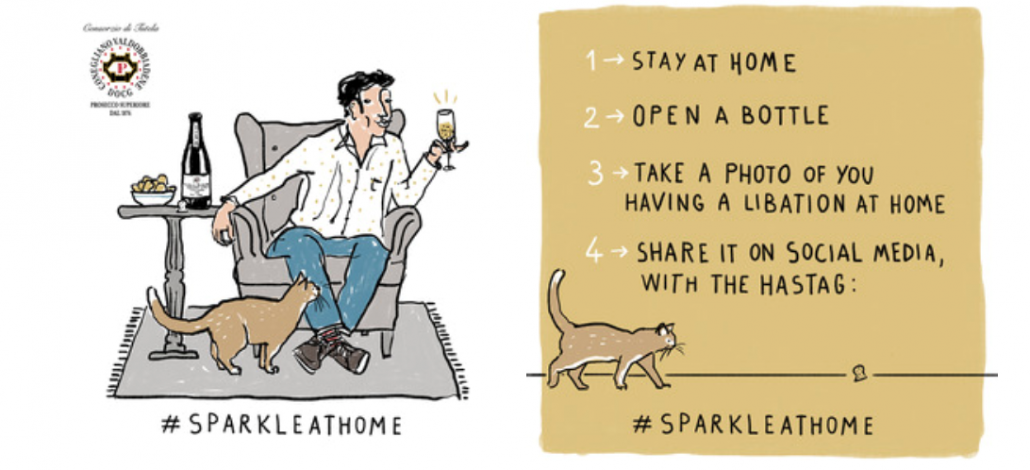 sparkle at home 1030x470 - Adaptation, adjustment and agility: How wine businesses are shifting to new business strategies