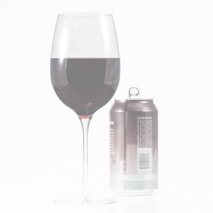 wine glass and can 705x705 - America's wine drinkers stay strong