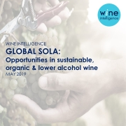 SOLA v2 180x180 - Global SOLA: Opportunities in sustainable, organic & lower alcohol wine 2019