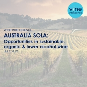 Australian vineyard with wine intelligence logo