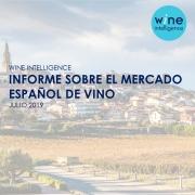 Spanish village with vineyard
