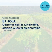 UK vineyard with wine intelligence logo