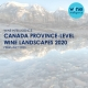 Canada Province Level Landscapes 2020 80x80 - Canada Wine Landscapes 2020