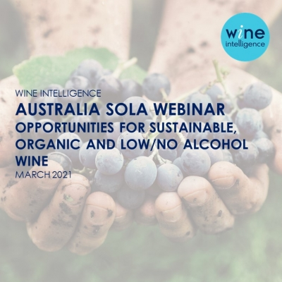Australia SOLA webinar 400x400 - Australia SOLA Webinar: Opportunities for Sustainable, Organic and Low / No Alcohol Wine