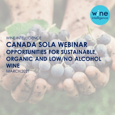 Canada SOLA webinar 400x400 - Canada SOLA Webinar: Opportunities for Sustainable, Organic and Low / No Alcohol Wine