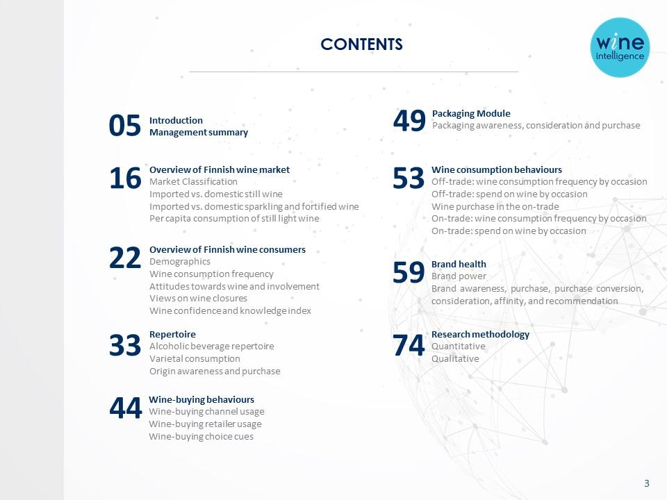 Finland Wine Landscapes 2021 report - Finland Wine Landscapes 2021
